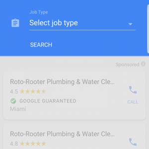 Customers Can Select The Type of Work You Need Performed